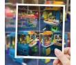 Интерактивный двухсторонний Автобус-кухня-магазин Fisher-Price Food Truck