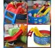 Горка Лев Ching-Chin + Сухой бассейн с шариками «Подводный мир» (250 шариков)