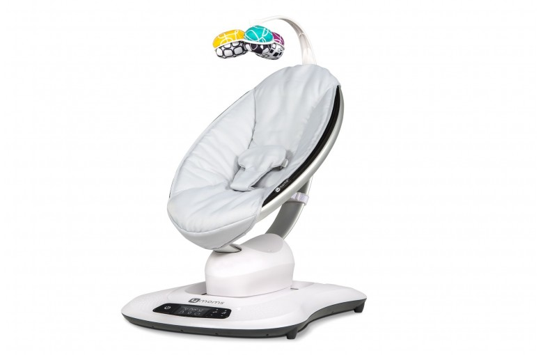Кресло-качалка 4Moms MamaRoo classic grey 4.0 NEW