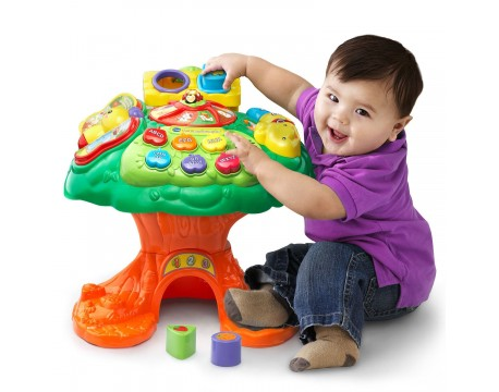 Музыкальны столик Дерево сортер VTech