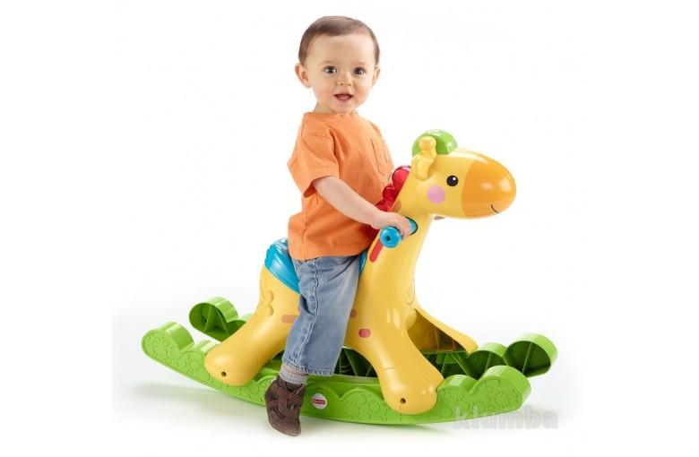 Музыкальная лошадка-качалка Fisher-Price