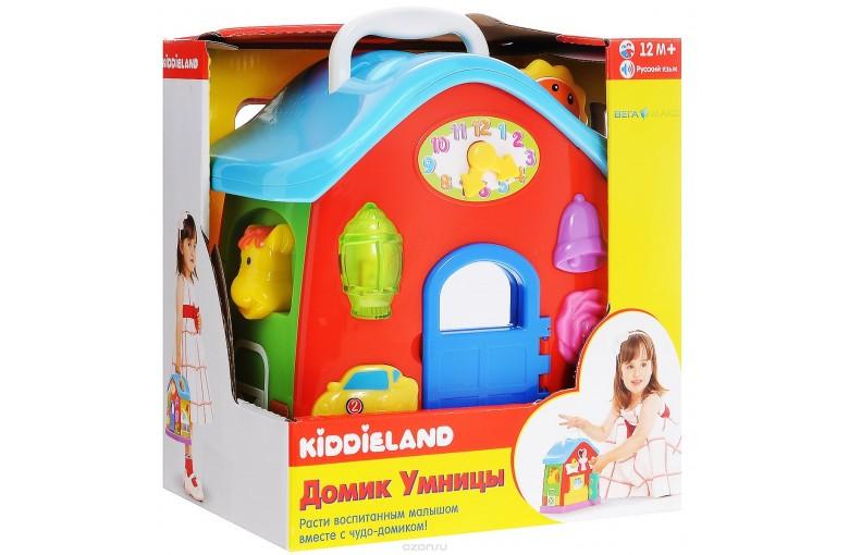 Развивающая игрушка Домик умницы (рус.яз), Kiddieland