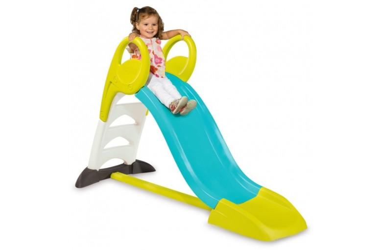 Горка детская с водным эффектом Smoby 310269 (голубая)