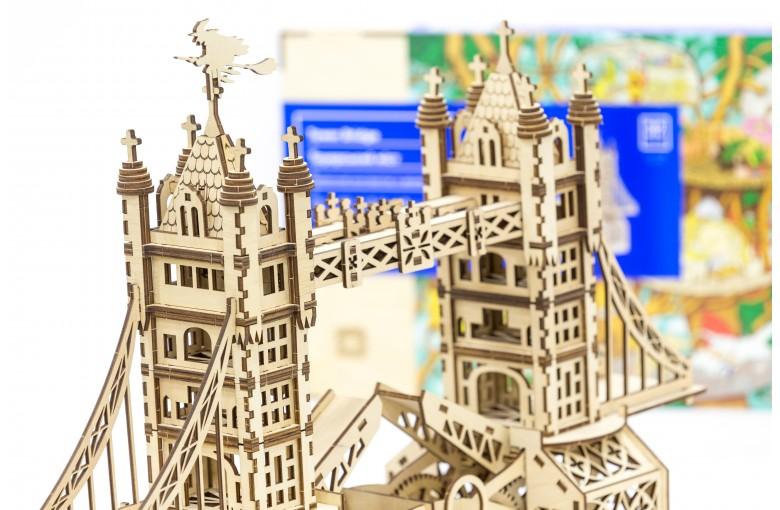 """Деревянный 3D конструктор """"Тауэрский мост"""" Mr. Playwood"""