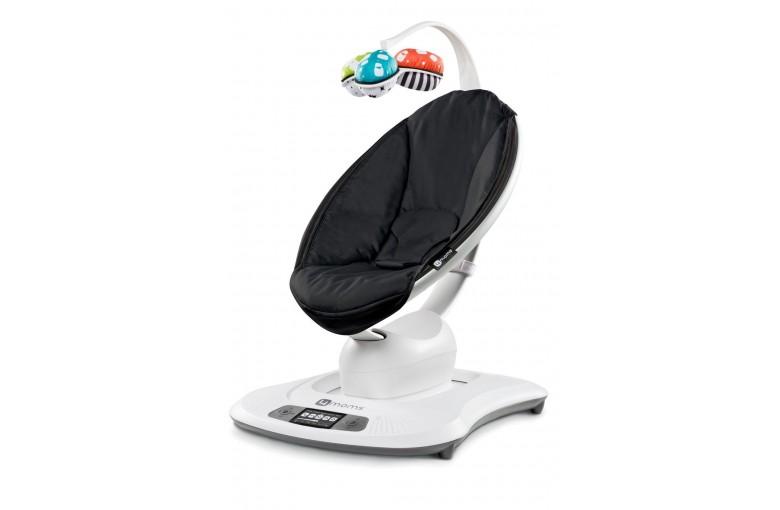 Кресло-качалка 4moms MamaRoo Smart Black Edition 3.0