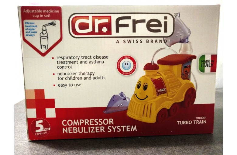 Ингалятор (небулайзер) компрессорный TURBO TRAIN Dr.Frei