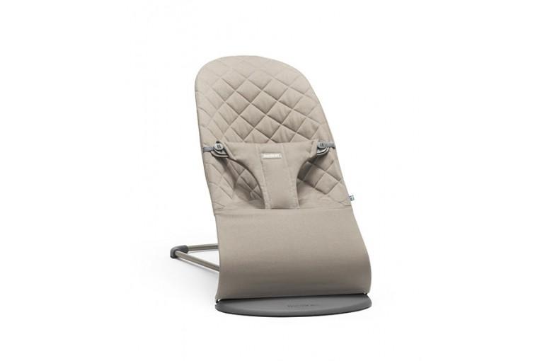Кресло-шезлонг BabyBjorn, Balance Bliss Cotton, Песочный