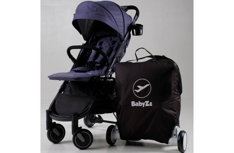 Коляска прогулочная Babyzz Bene baby D200 (джинсовая)