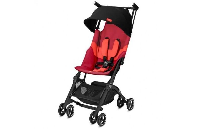 Прогулочная коляска Gb Pockit+ All-Terrain Rose Red