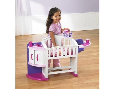 Кроватка для куклы American Plastic