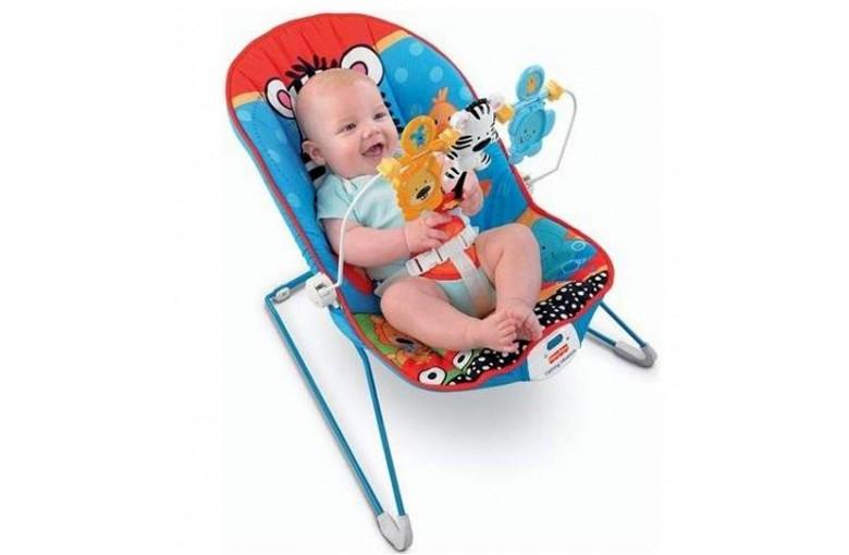 Кресло-шезлонг Веселые Зверята Fisher-Price
