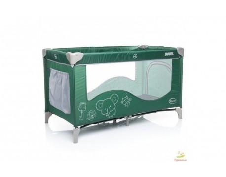 Манеж 4Baby Royal green (зеленый)
