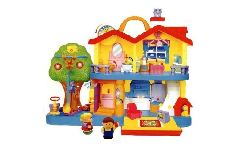 """Развивающая игрушка """"Занимательный дом"""""""