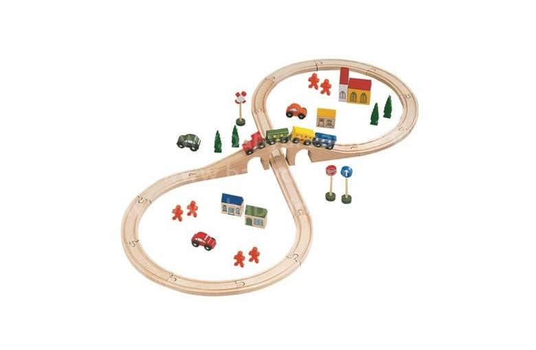 Железная дорога + депо ikea