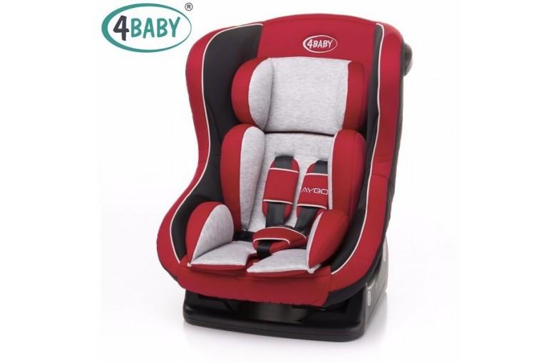 Автокресло 4 Baby Aygo (0-18 кг) Red