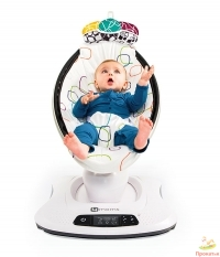Кресло-качалка 4Moms MamaRoo Multi plush 4.0 NEW