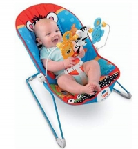 Кресло-шезлонг Веселые Зверята Fisher Price
