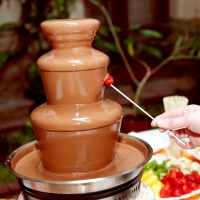 Шоколадный фонтан (без шоколада:))