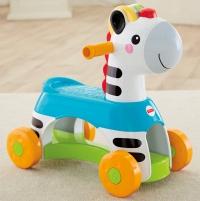 Музыкальная каталка Fisher-Price Rollin Tunes Ride-On Zebra